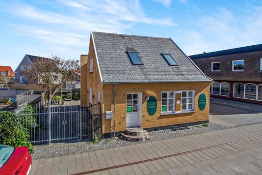 Villa på Nørregade i Hirtshals - Ejendommen