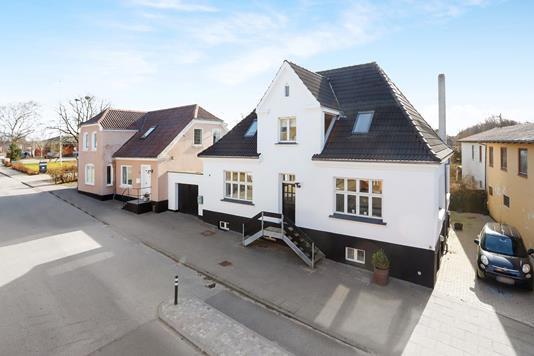 Villa på Nørrebro i Bindslev - Ejendommen