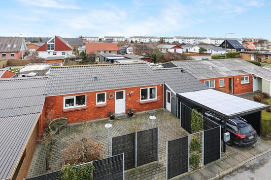 Villa på Grønlandssti i Hirtshals - Ejendommen
