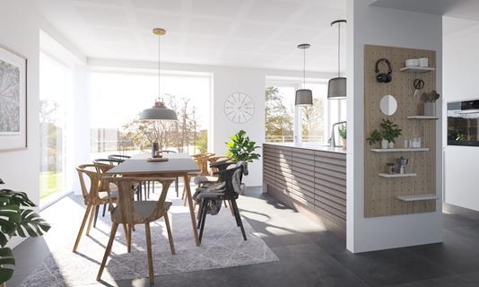 Ejerlejlighed på Sølystvej i Silkeborg - Modelfoto