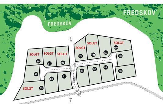 Helårsgrund på Fårdalen i Silkeborg - Grund