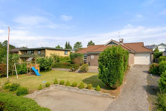 Villa på Trymsvej i Silkeborg - Mastefoto