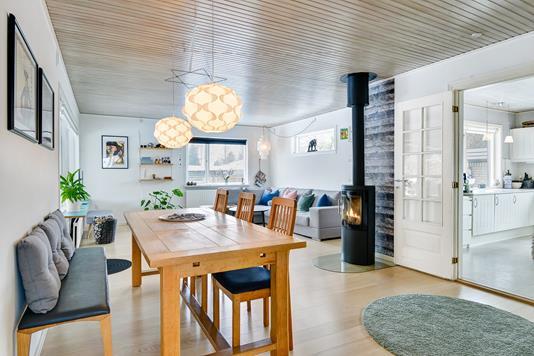 Villa på Ved Hegnet i Silkeborg - Stue