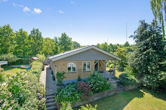 Villa på Højstrupvej i Silkeborg - Mastefoto