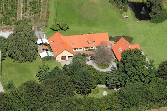 Villa på Horsbjergvej i Them - Ejendommen