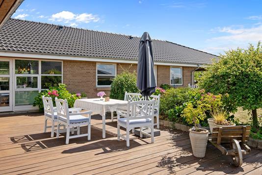 Villa på Tingbakken i Gjern - Terrasse
