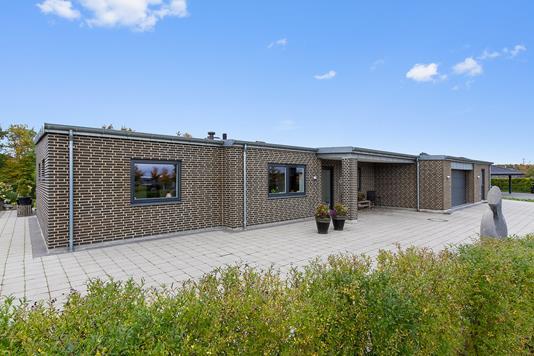 Villa på Turkuvej i Silkeborg - Set fra haven