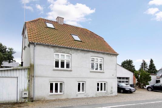 Villa på Linå Bygade i Silkeborg - Facade
