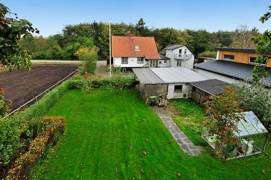 Villa på Krogagervej i Bording - Ejendommen