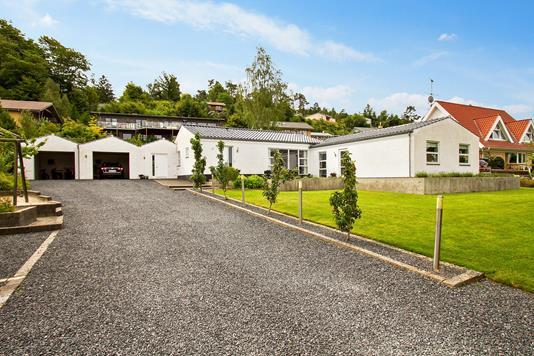 Villa på Thorsø Allé i Silkeborg - Ejendommen