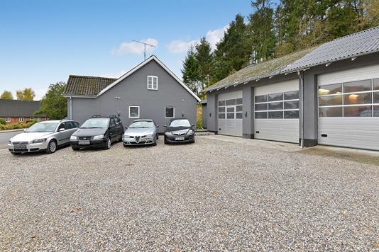 Villa på Linå Bygade i Silkeborg - Ejendommen
