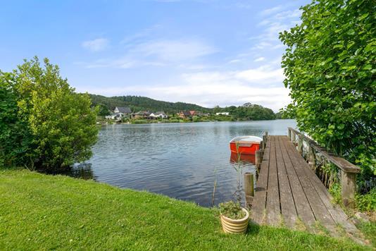 Villa på Thorsøvænget i Silkeborg - Have