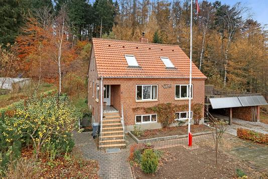 Villa på Resendalvej i Silkeborg - Ejendommen