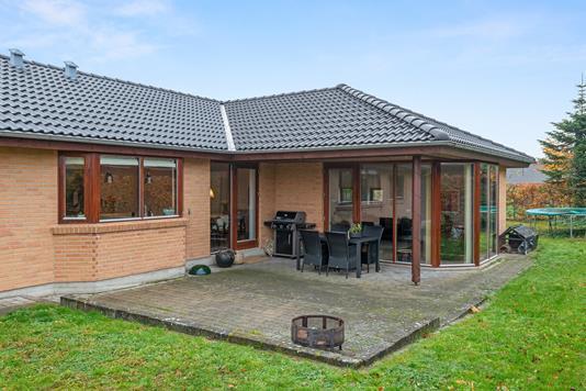 Villa på Birke Allé i Silkeborg - Terrasse