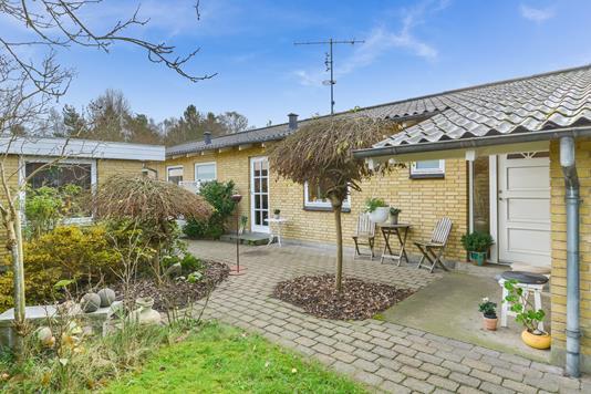 Villa på Ålykkevej i Silkeborg - Gårdhave