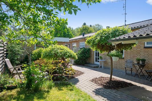 Villa på Ålykkevej i Silkeborg - Terrasse
