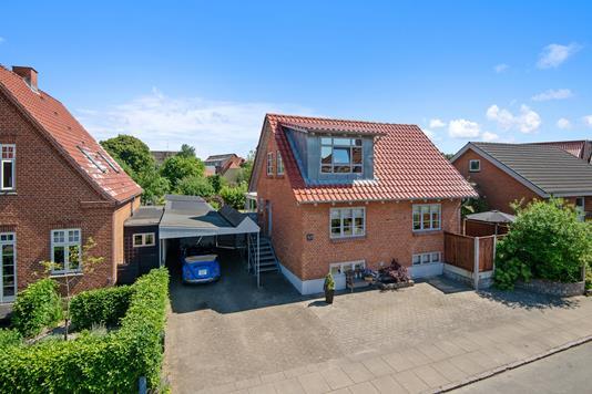 Villa på Landlystvej i Silkeborg - Ejendommen
