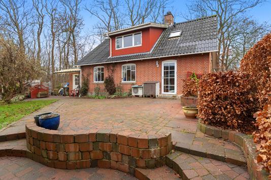 Villa på Haurbakvej i Kjellerup - Terrasse