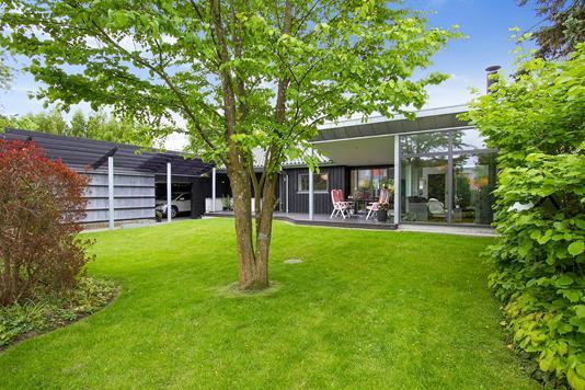 Villa på Klostergade i Slagelse - Set fra haven