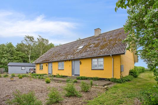 Villa på Holbækvej i Slagelse - Set fra haven