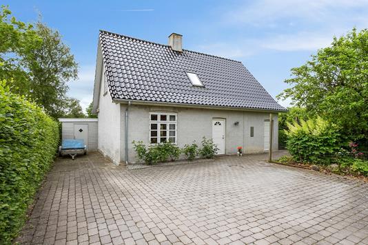 Villa på Læsøvej i Slagelse - Set fra haven