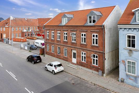 Ejerlejlighed på Sdr.Stationsvej i Slagelse - Ejendommen