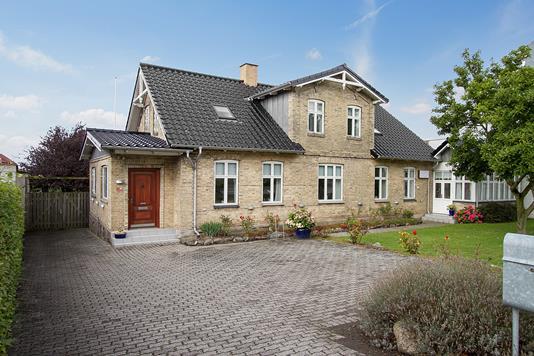 Villa på Smedegade i Slagelse - Ejendommen