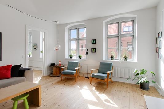Ejerlejlighed på Løvegade i Slagelse - Stue