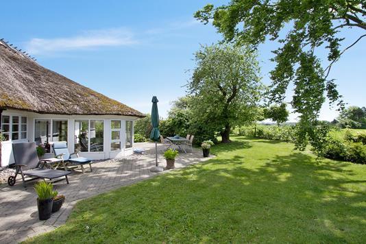 Villa på Slagelsevej i Slagelse - Set fra haven