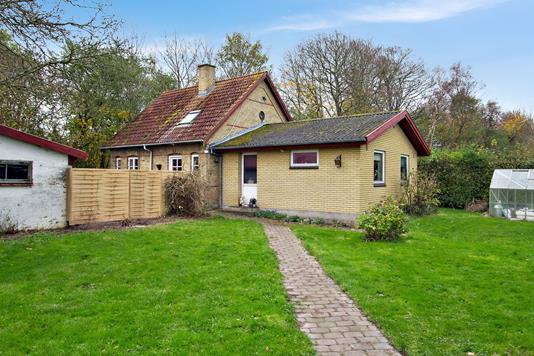 Villa på Bøstrupvej i Høng - Set fra haven