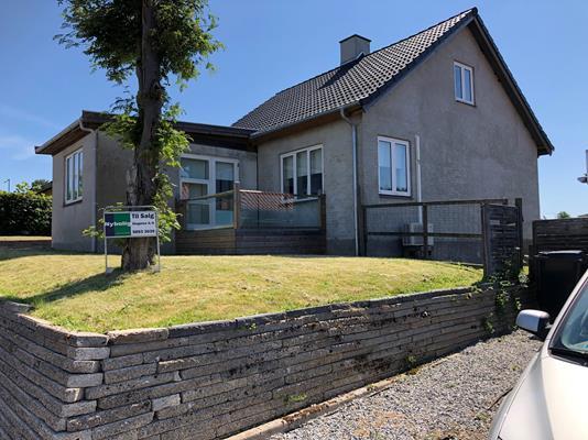 Villa på Sønderås i Slagelse - Facade