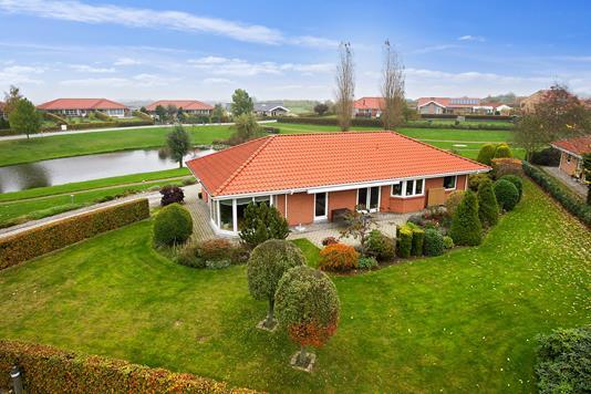 Villa på H.C. Andersensvej i Slagelse - Set fra haven