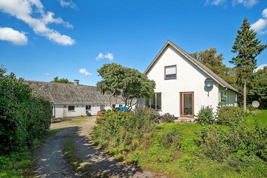 Villa på Skælskør Landevej i Slagelse - Set fra vejen