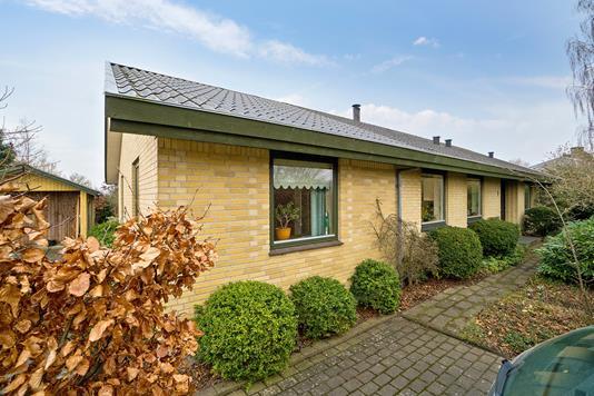 Villa på Flakkebjerg Birkevej i Slagelse - Set fra vejen