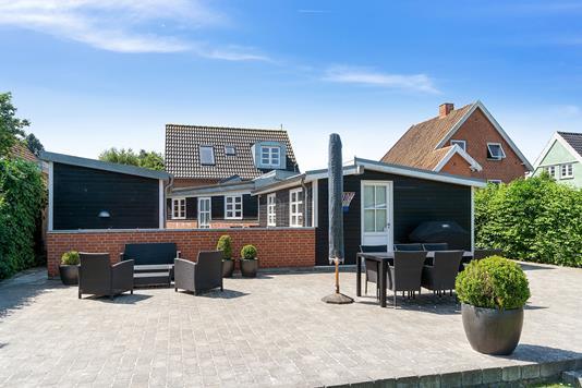 Villa på Valbygårdsvej i Slagelse - Have