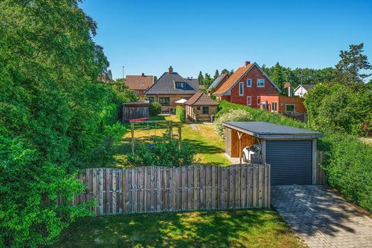 Villa på Valbygårdsvej i Slagelse - Set fra vejen