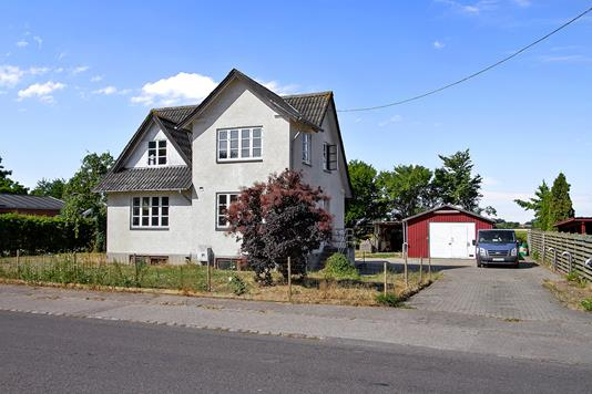 Villa på Slagelsevej i Gørlev - Set fra vejen