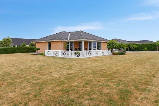 Villa på Havremarken i Slagelse - Set fra haven