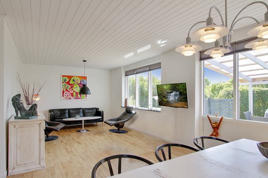 Villa på Bildsøvej i Slagelse - Stue