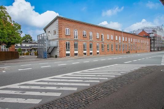 Ejerlejlighed på Ndr.Stationsvej i Slagelse - Facade