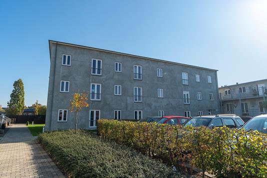 Andelsbolig på Ndr.Stationsvej i Slagelse - Facade