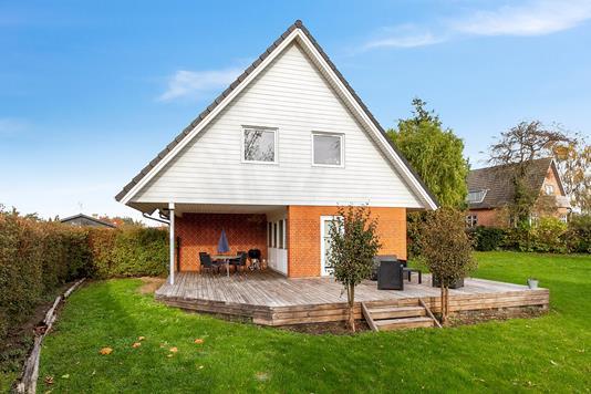 Villa på Havrebjergvej i Slagelse - Set fra haven