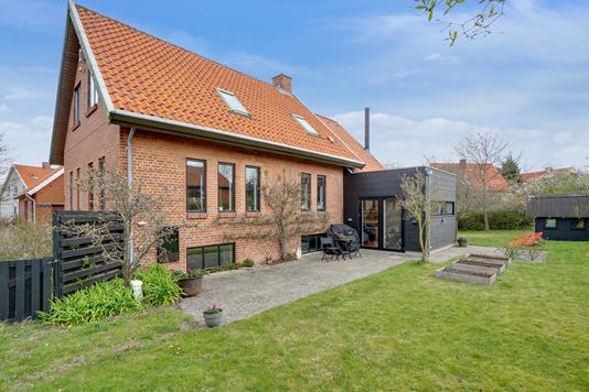 Villa på Astersvej i Slagelse - Set fra haven