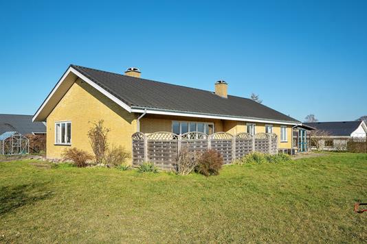 Villa på Rønnesholm i Slagelse - Set fra haven