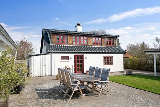 Villa på Krænkerupvej i Slagelse - Terrasse