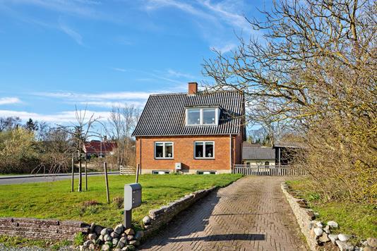 Villa på Mosevej i Slagelse - Set fra vejen