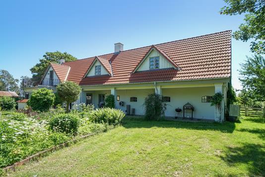 Villa på Mullerup Strandvej i Slagelse - Set fra haven