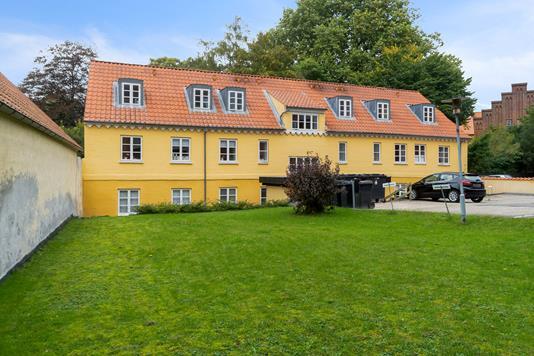 Andelsbolig på Bjergbygade i Slagelse - Set fra haven
