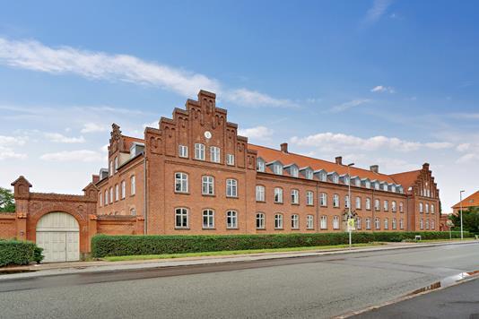 Ejerlejlighed på Klosterhaven i Slagelse - Set fra vejen