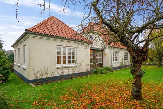 Villa på Slagelsevej i Høng - Set fra haven